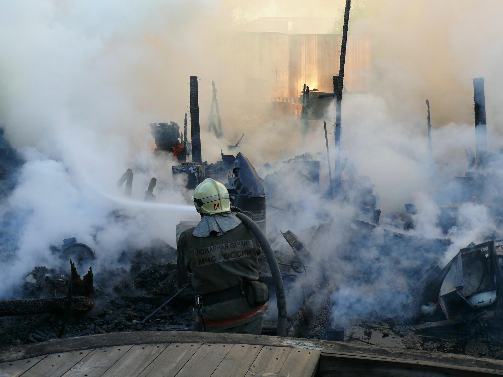 Пожарно-спасательные подразделения ликвидировали пожар в Котласском районе Архангельской области.