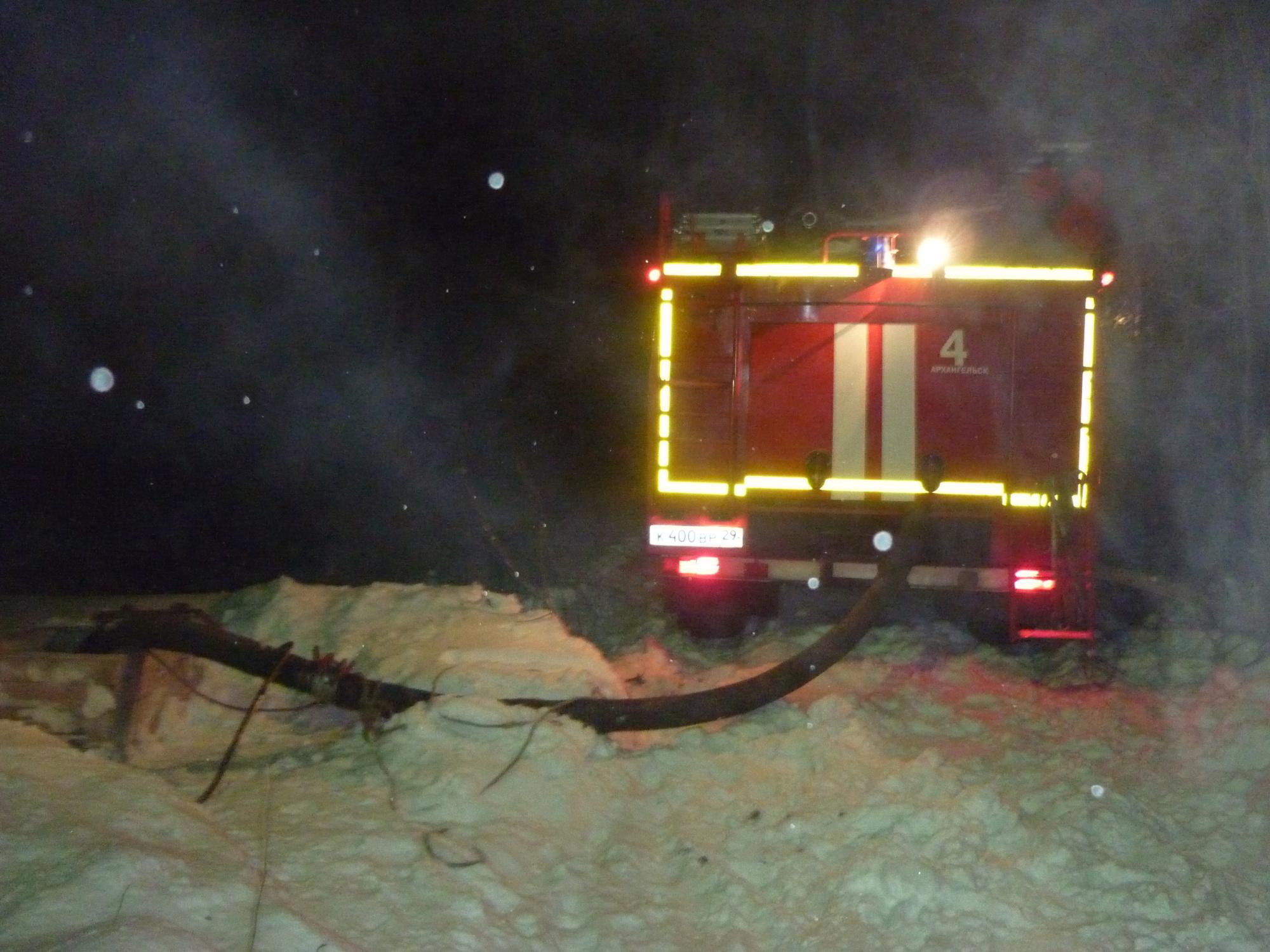 Пожарно-спасательные подразделения ликвидировали пожар в Коношском районе Архангельской области.