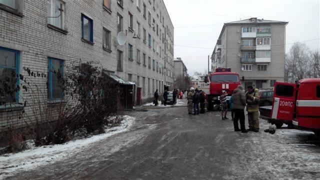 Пожарно-спасательные подразделения ликвидировали пожар в г. Новодвинске Архангельской области.