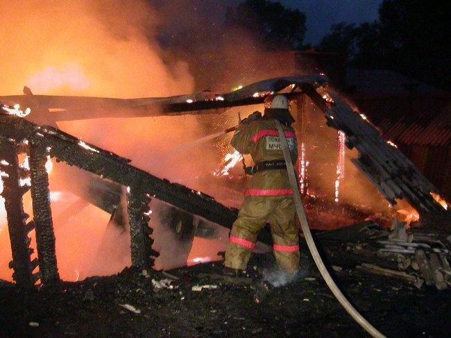 Пожарно-спасательные подразделения ликвидировали пожар в г. Няндома Архангельской области.